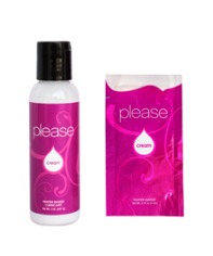 PLEASE Creme Intimate Lubricant Condom Compatible