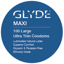GLYDE MAXI | Ultra Thin Extra Large - 100 Count