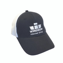 Windsor Structured Twill Fine Meshback Cap