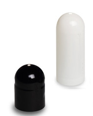Black/White Separated  Gel Capsules Size 0*