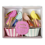 Meri Meri Pretty Birdies Cupcake Kit
