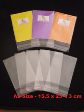 Cellophane Bags, Self seal cellophane bags, OPP Bags, A5 Size Cellophane bags