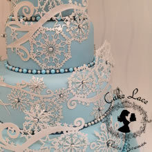 CRYSTAL Cake Lace Mat - by Claire Bowman
