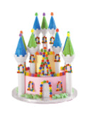 Wilton 32 Piece Romantic Castle Cake Set
