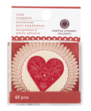 Martha Stewart Heart and Love Cupcake Wrap