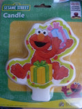 Elmo Flat Candle