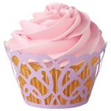 Wilton Lavender Swirls Cupcake Wraps