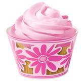 Wilton Pink Party Cupcake Wraps
