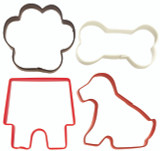Wilton 4 Piece Pets Cookie Cutter Set