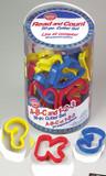 Wilton 50 Piece Alphabet and Number Cookie Cutter Set