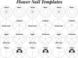 Wilton Flower Nail Templates
