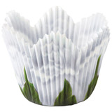 Wilton White Rose Petal Baking Cups