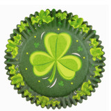 Wilton Shamrock Shower Mini Baking Cups