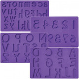 Wilton Fondant and Gum Paste Mould Letters/Numbers