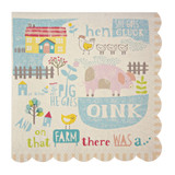 Meri Meri Happy Little Farm Napkins