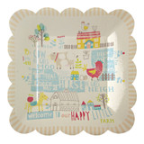 Meri Meri Happy Little Farm Plates