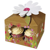 Meri Meri Little Garden Cupcake Box Large