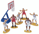 Wilton Basketball Figure Topper Set
