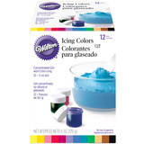 Wilton 12 Pc Icing Color Set