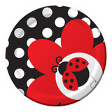 Lady Bug Party Plates