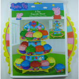 Peppa Pig 3 Tier Cupcake Stand