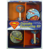 Superman Cupcake Decorating Kit