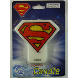 Superman Flat Candle