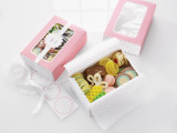 Martha Stewart Vintage Girl Match Box