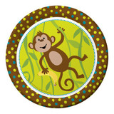 Monkeyin Around Plates