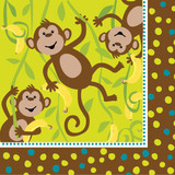 Monkeyin Around Napkins
