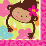 Monkey Love Napkins