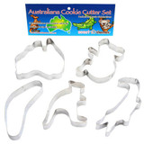 Australiana Cookie Cutters - 5 pc