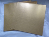 13 inch Masonite cake board Square - Gold