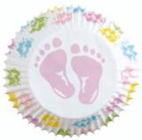 Wilton Standard Baby Feet Baking Cups