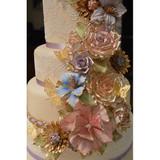 Art Nouveau 3D Cake Lace Mat - by Claire Bowman