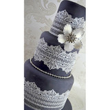 Serenity 3D Cake Lace Mat - by Claire Bowman