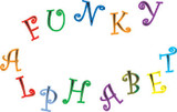 FMM Funky Capital Alphabet & Numbers Tappit Set