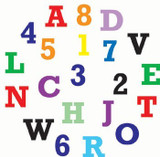 FMM Alphabet & Numbers Set - Upper Case