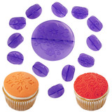 flowers fondant decorating set