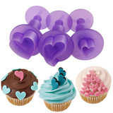 Wilton Fondant mini Cut-Outs Set Hearts