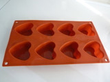 Food Grade Heart shaped cavity cake mold