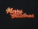 Merry Christmas Cake Topper Plaque