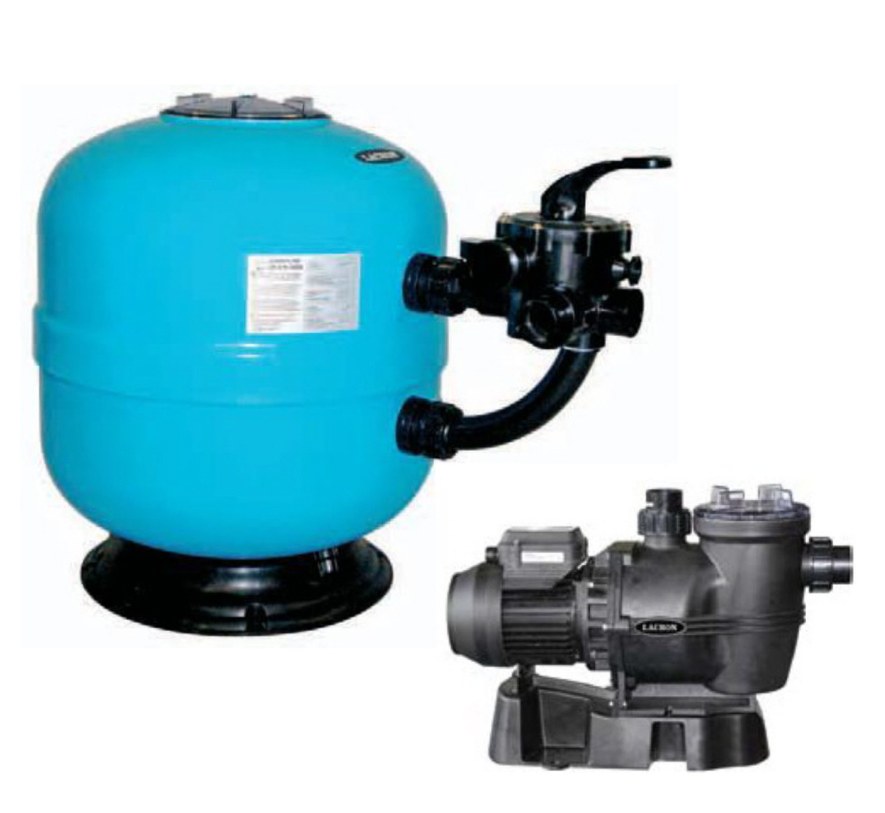 Lacron Filter And Lacronite Pump Package Oasis Pool Products