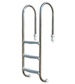 Slimline pool ladder