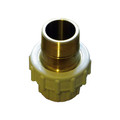 Male threaded brass composite union