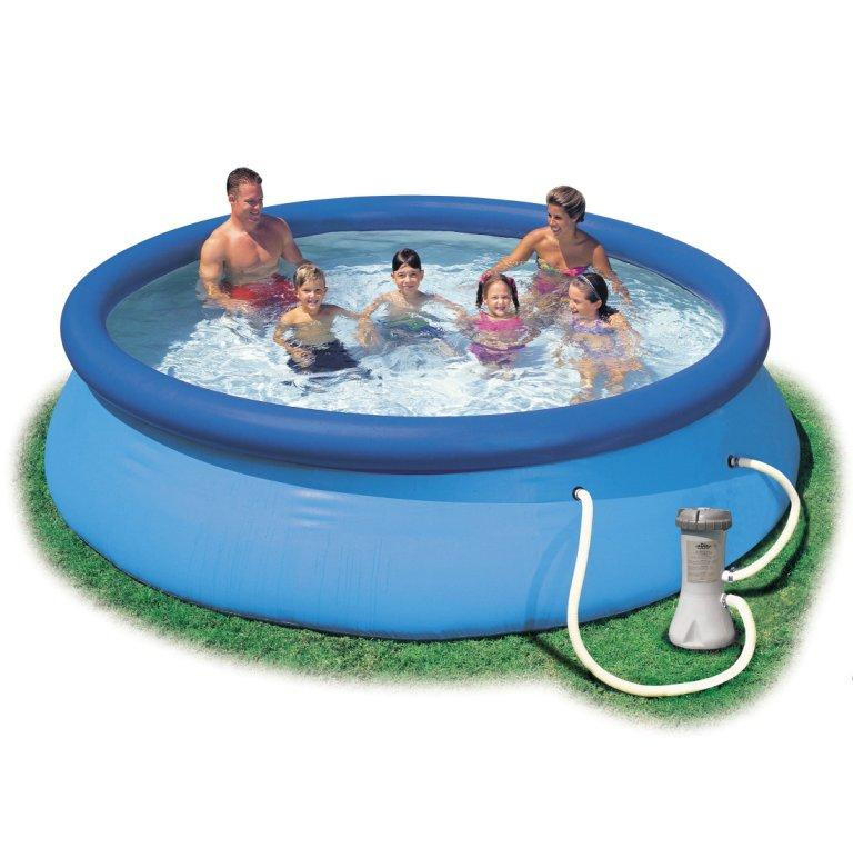 Intex Easy Set Pool 8ft Dia with Filter Pump   Oasis Pool Products