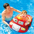 The Fun Firetruck Pool Cruiser.