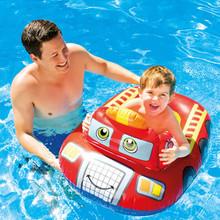 The Fun Firetruck Pool Cruiser.