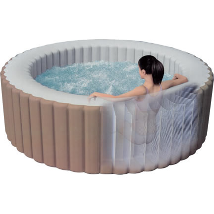 Intex PureSpa Bubble Inflatable Hot Tub | Oasis Pool Products