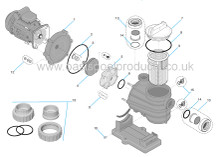 Buy Spare Parts For Sta Rite 5MPR Pool Pump